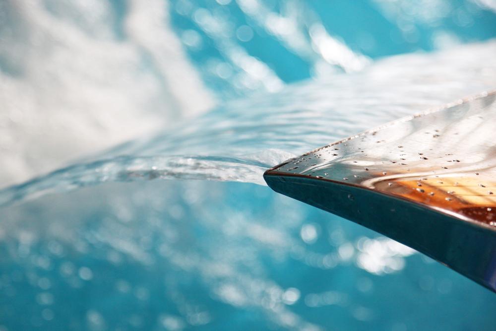lame d'eau piscine